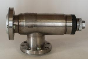 Клапан вакуумный прогреваемый ручной М4.465.063