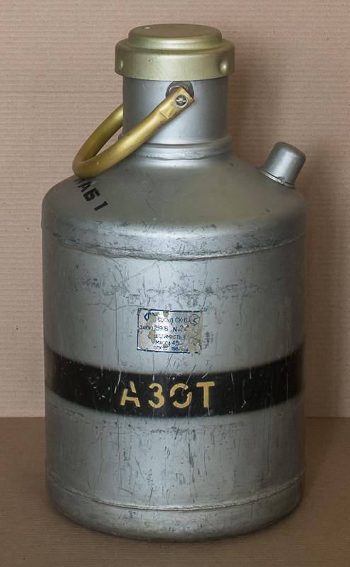 Сосуд Дьюара СК-6 для азота, 6л