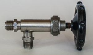 Клапан вакуумный ручной КРУ-6.3