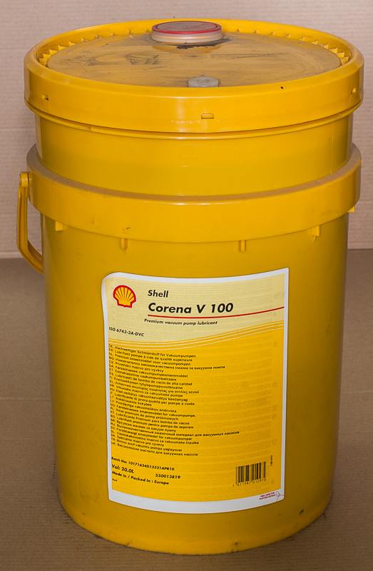 Масло вакуумное Corena V100, Shell