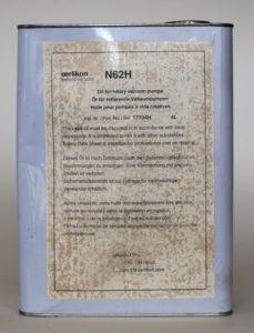 Масло вакуумное N62H oerlikon leybold vacuum