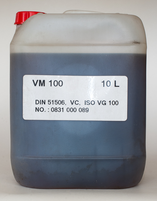 Масло вакуумное VM100 10л